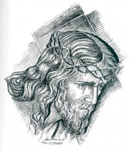 Nazareno con cirineo