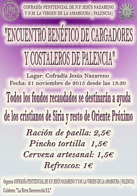 Encuentro Benéfico de Cargadores y Costaleros de Palencia