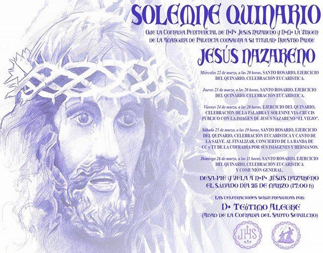 Solemne Quinario a N.P. Jesús Nazareno